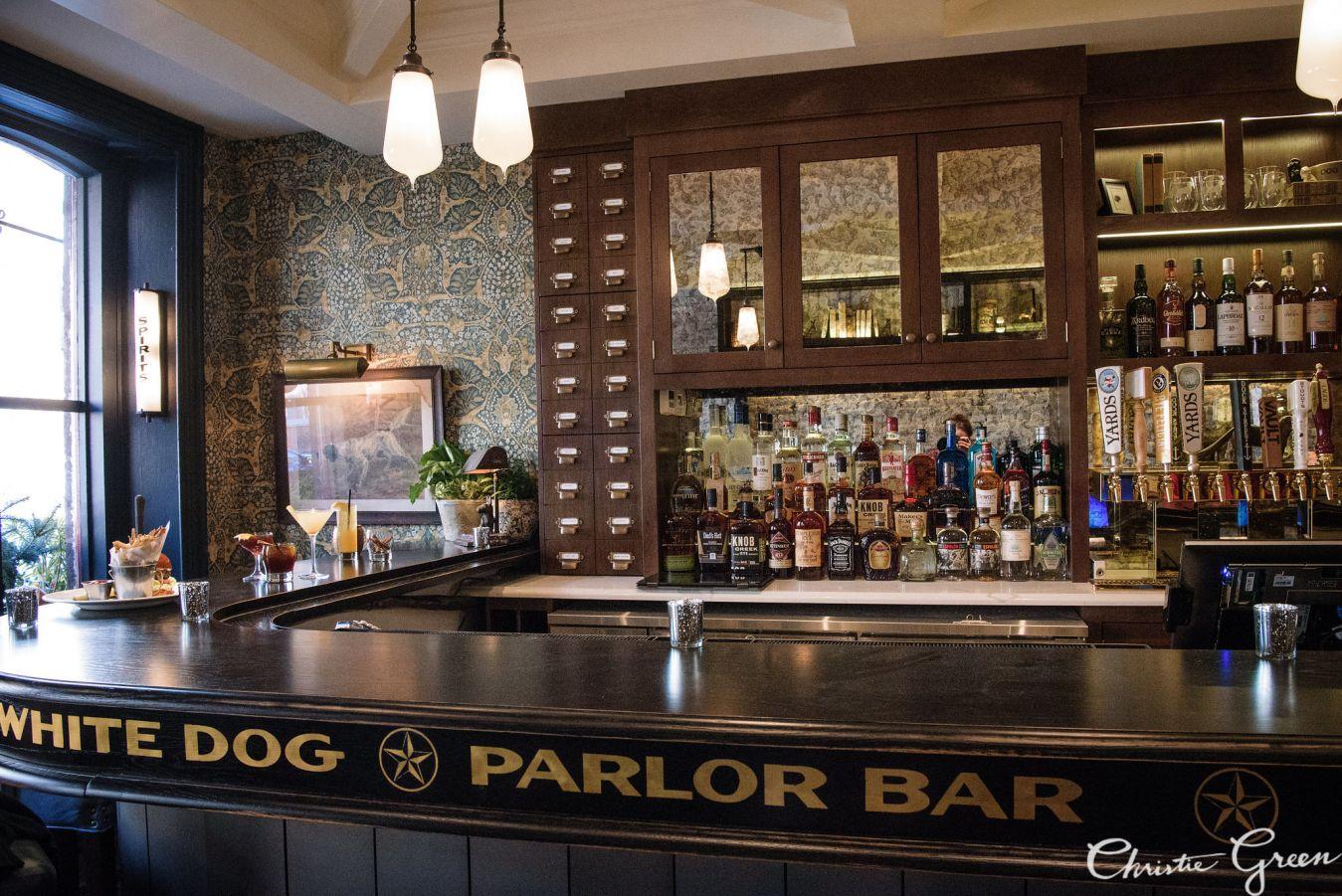 White Coffee Bar Decor
